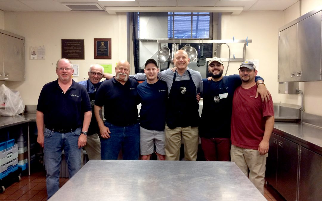 Nauset Serves Up Meals While Building Comradery