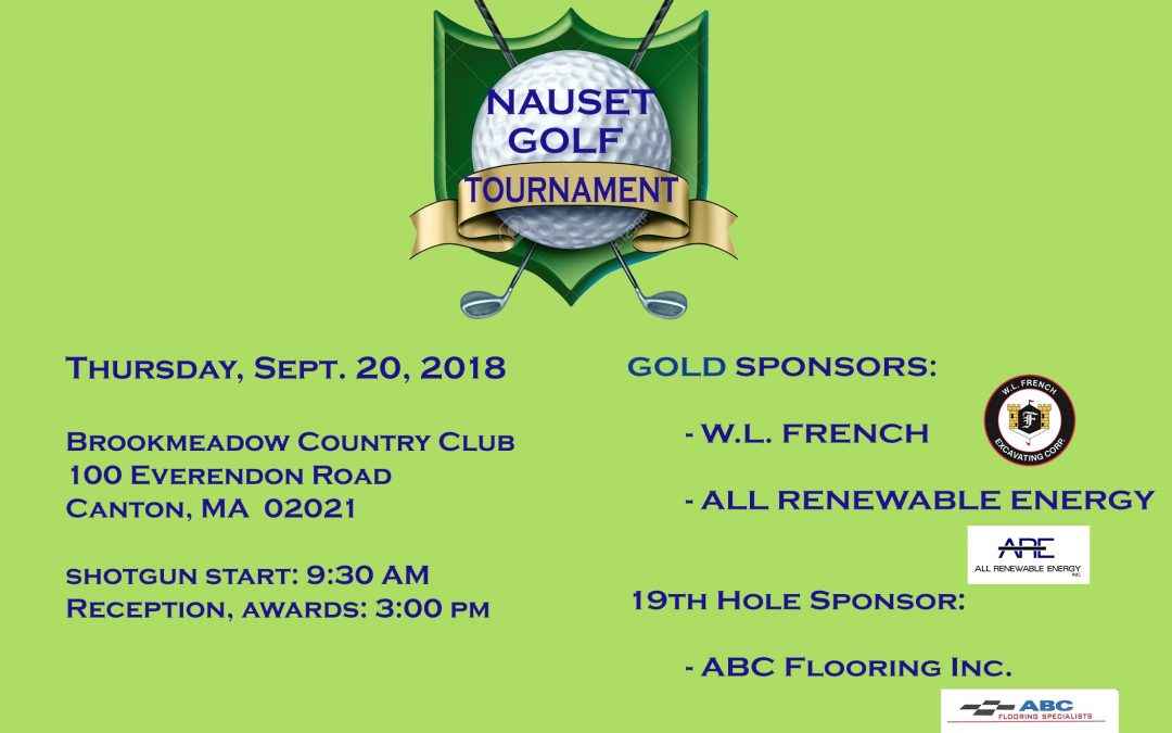 Nauset's Premier Charity Golf Tournament for Habitat for Humanity Greater Boston