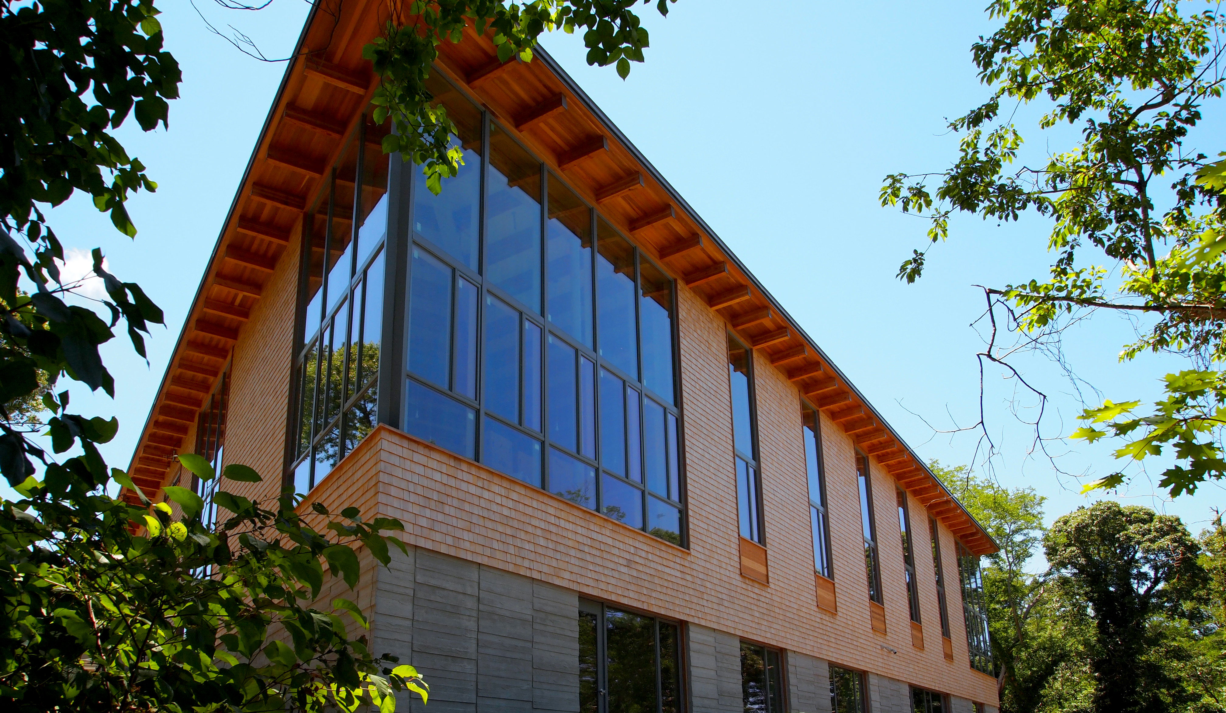 LEED Gold Certified, AIA/ALA Library Building Award, Eastham, Cape Cod, Nauset, Oudens Ello Architecture
