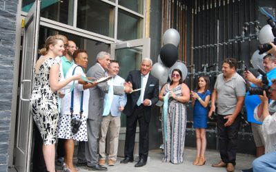 3MJ Realty/Nauset preview the opening of TEN ESSEX with a block party!